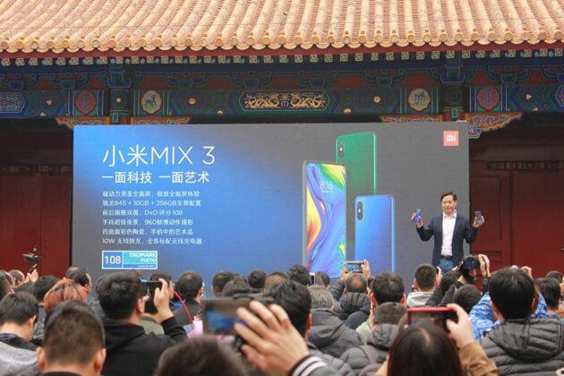 Xiaomi Mi Mix 3 Hands-On: слайдер с 10 ГБ ОЗУ